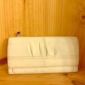 Coach Trifold Snap Closure Wallet